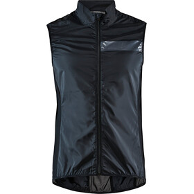 Craft Essence Light Windvest Heren, black